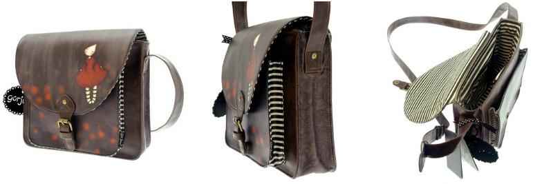 Gorjuss Poppy Saddle Bag