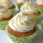 Lime Cupcakes with Lime Butter Cream Frosting