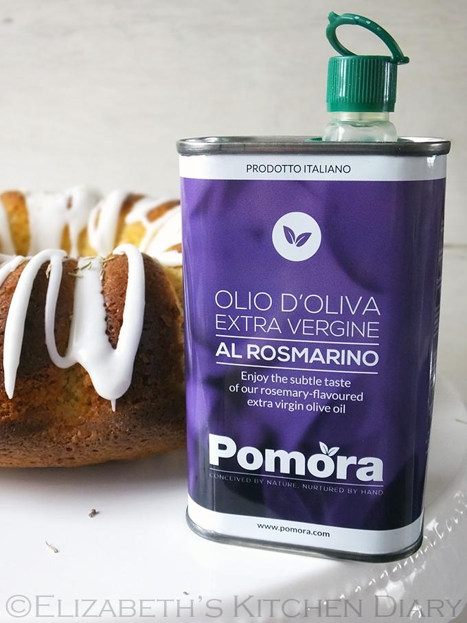 Pomora rosemary-infused olive oil