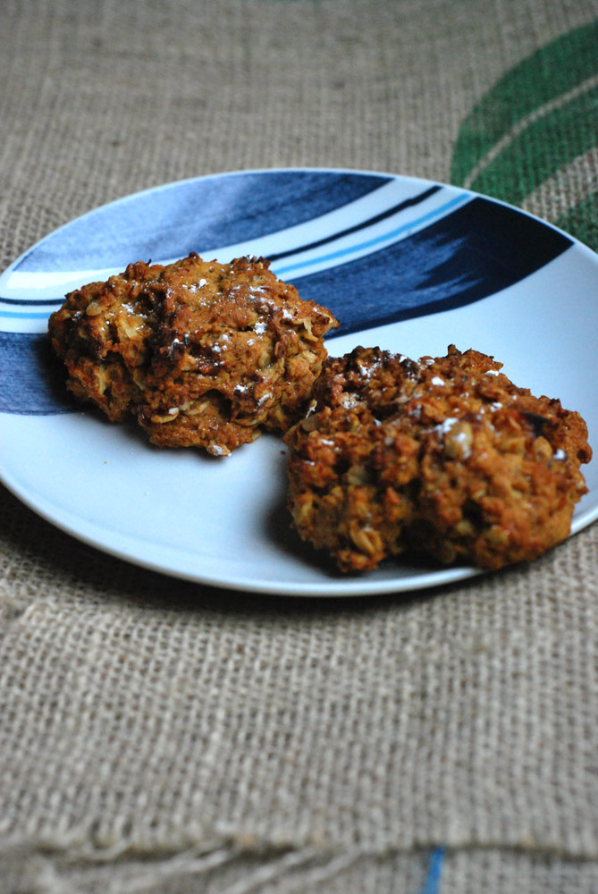 Sweet Potato and Ginger Cookies