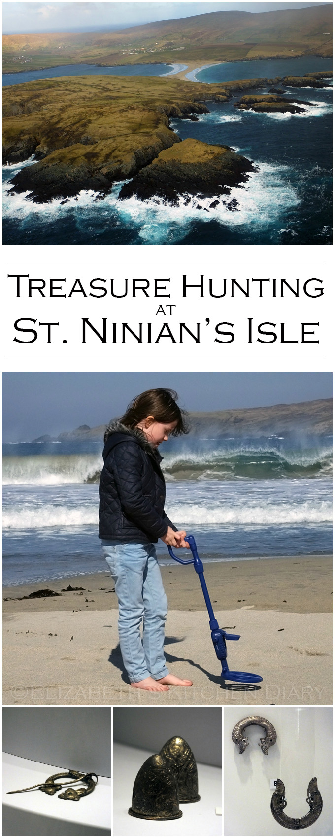 Treasure Hunting at St. Ninian's Isle