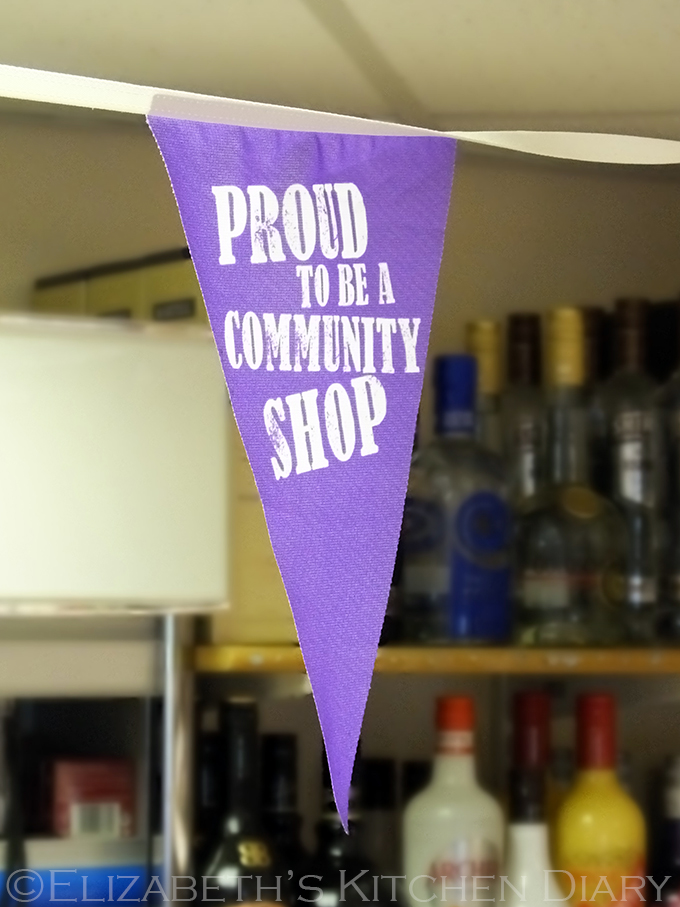 Proud to be a community shop