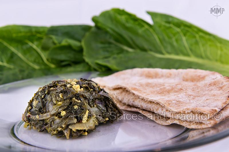 Kale and Tofu Subji