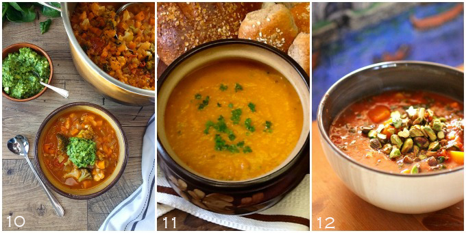 No Waste Food Challenge Soups