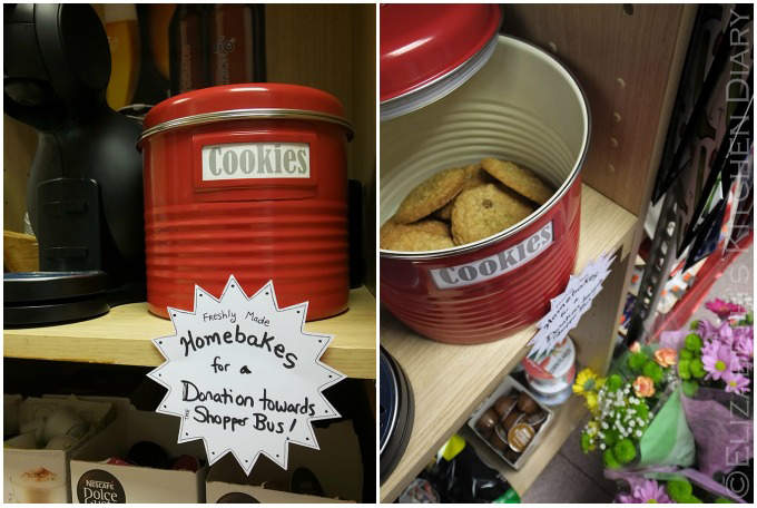 Typhoon vintage cookie tin by Red Candy