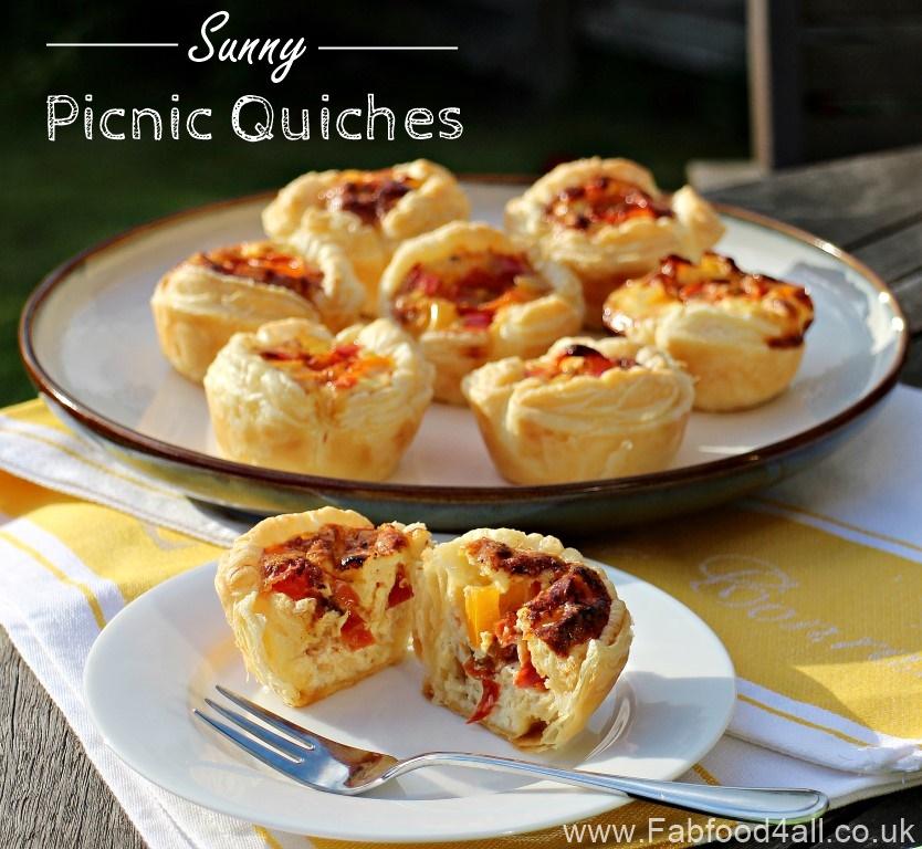 Sunny Picnic Quiches