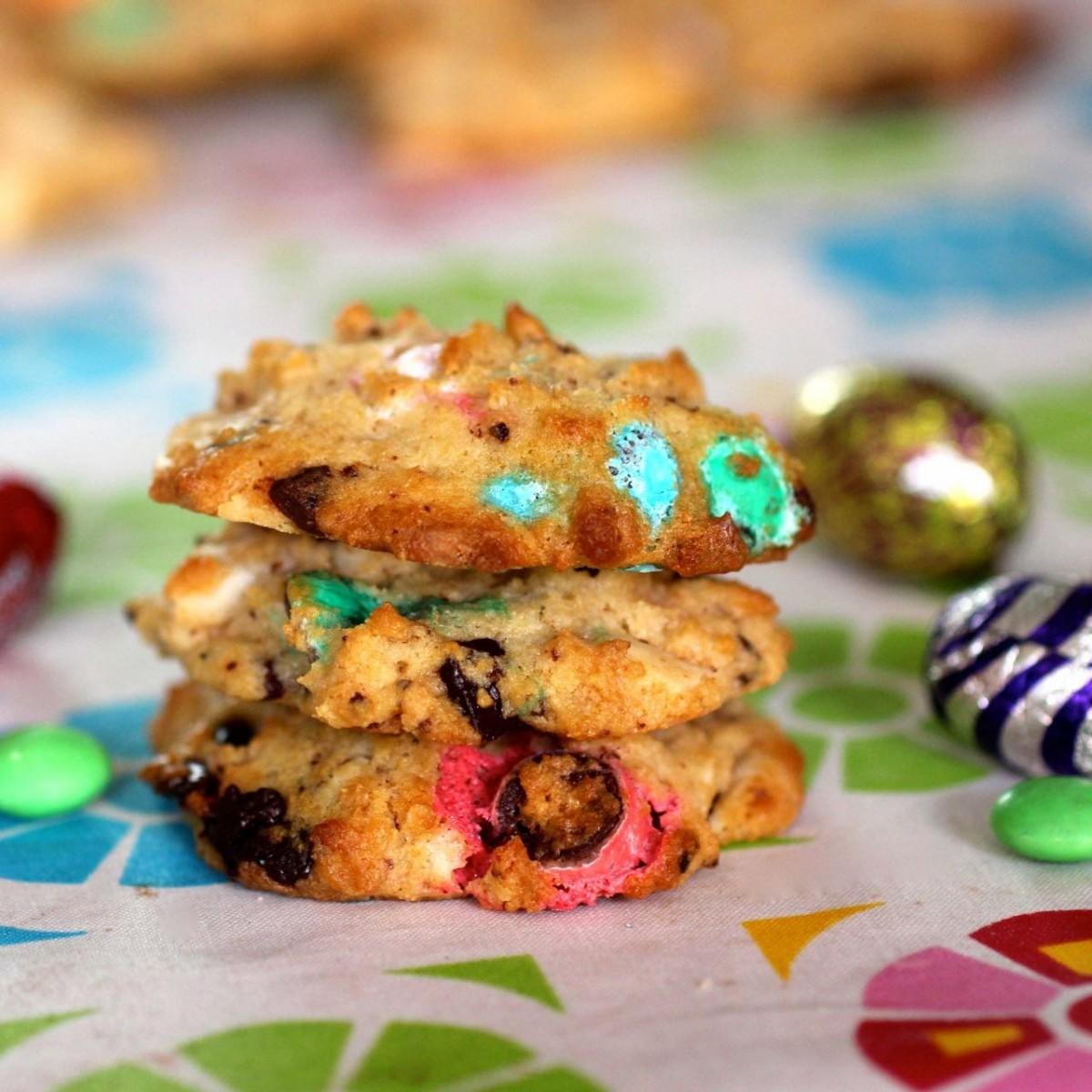 Dulce de leche chocolate chip cookies