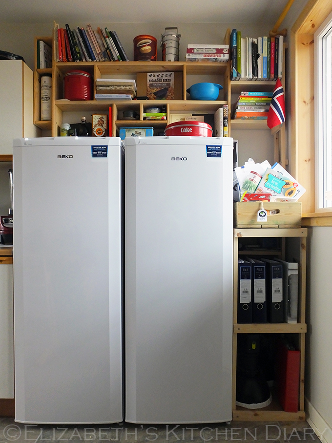Beko Fridge and Freezer with DIY shelving