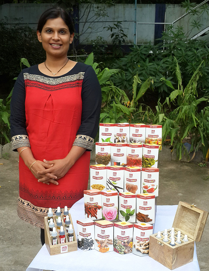 Gouri with Spice Drops