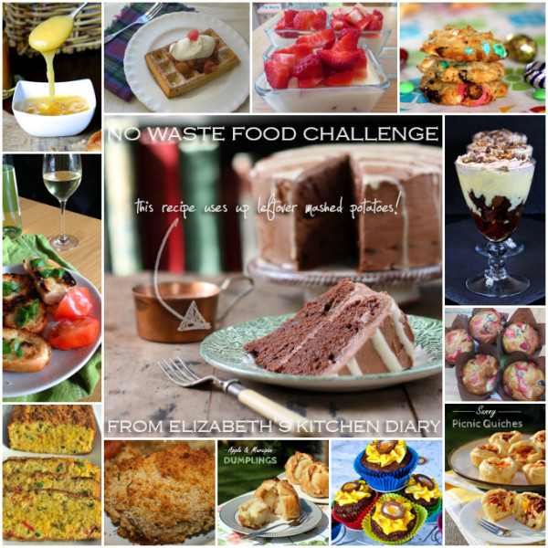 No Waste Food Challenge round up for April 2015