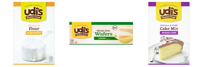 Udi's Gluten Free Products