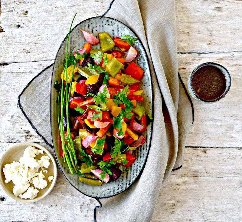 Rainbow Salad by Kellie's Food to Glow