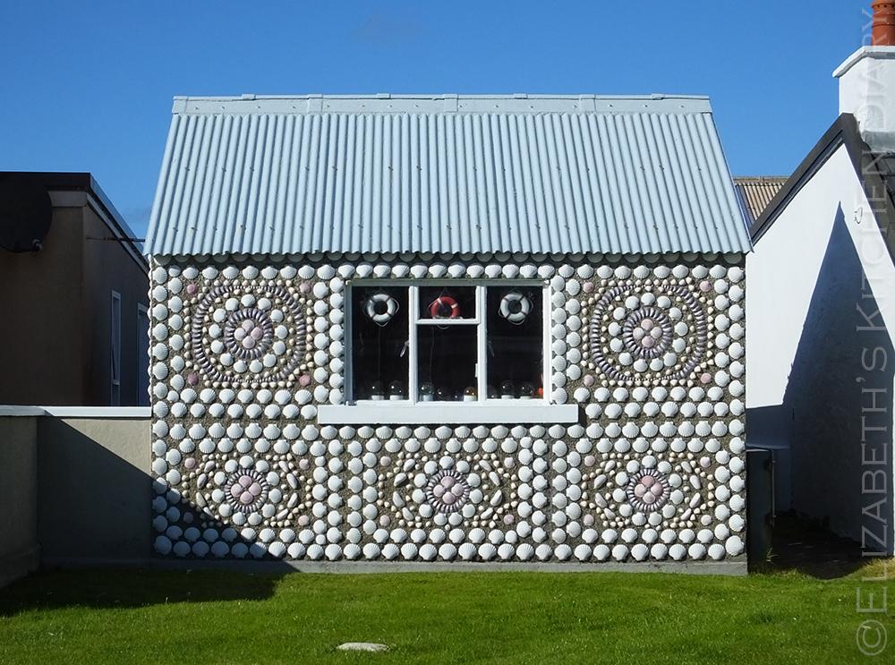 Seashell Shed in Burra, Shetland