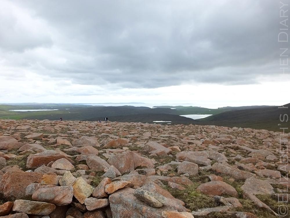 Mid Field Hill, Shetland