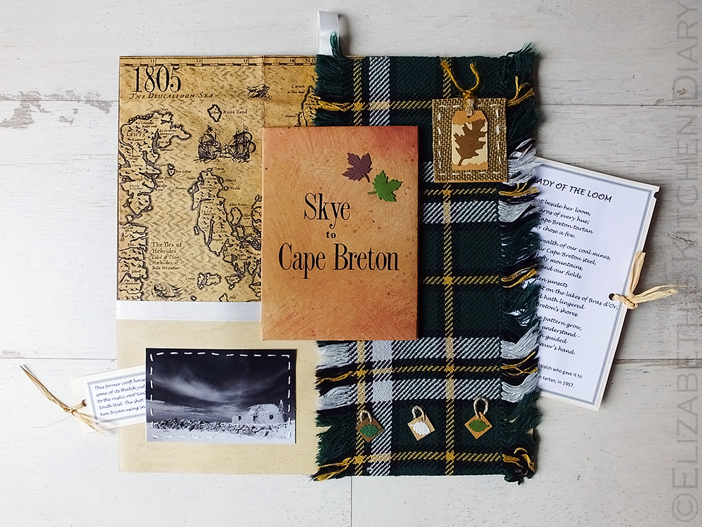 Skye to Cape Breton Scrapbook Page