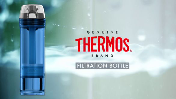 Thermos Filtration Bottle