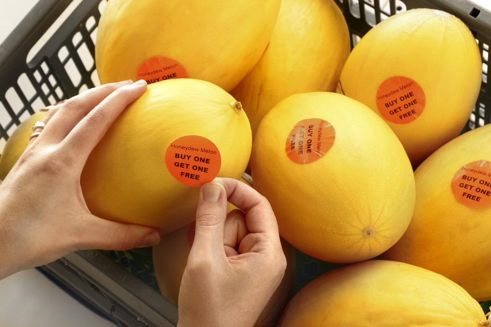 BOGOF melons image via shutterstock