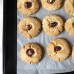 4-Ingredient Hazelnut Cookies