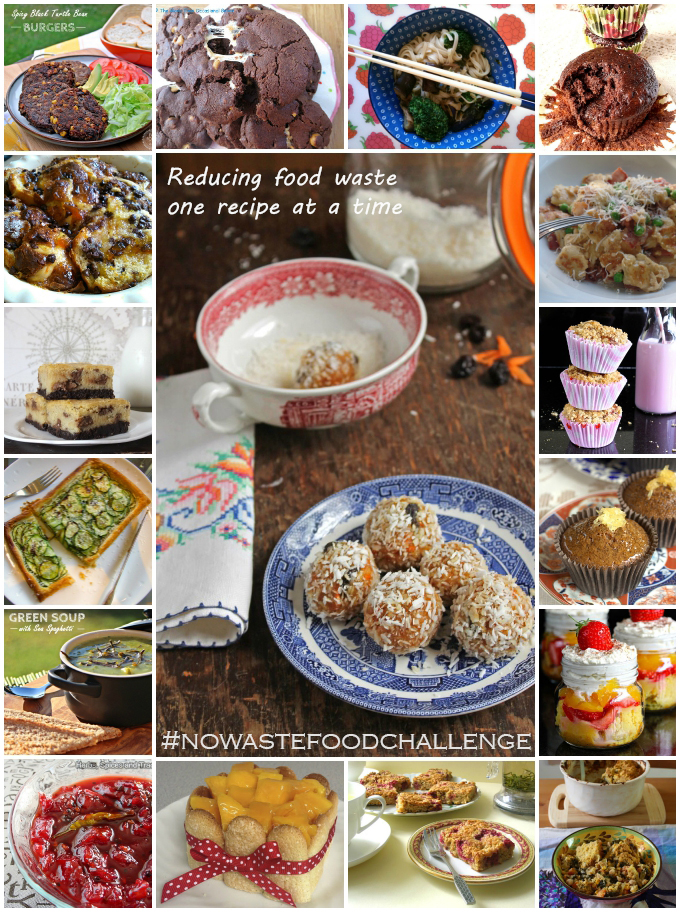 No Waste Food Challenge June 2015