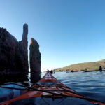 Kayaking in Ronas Voe, Shetland
