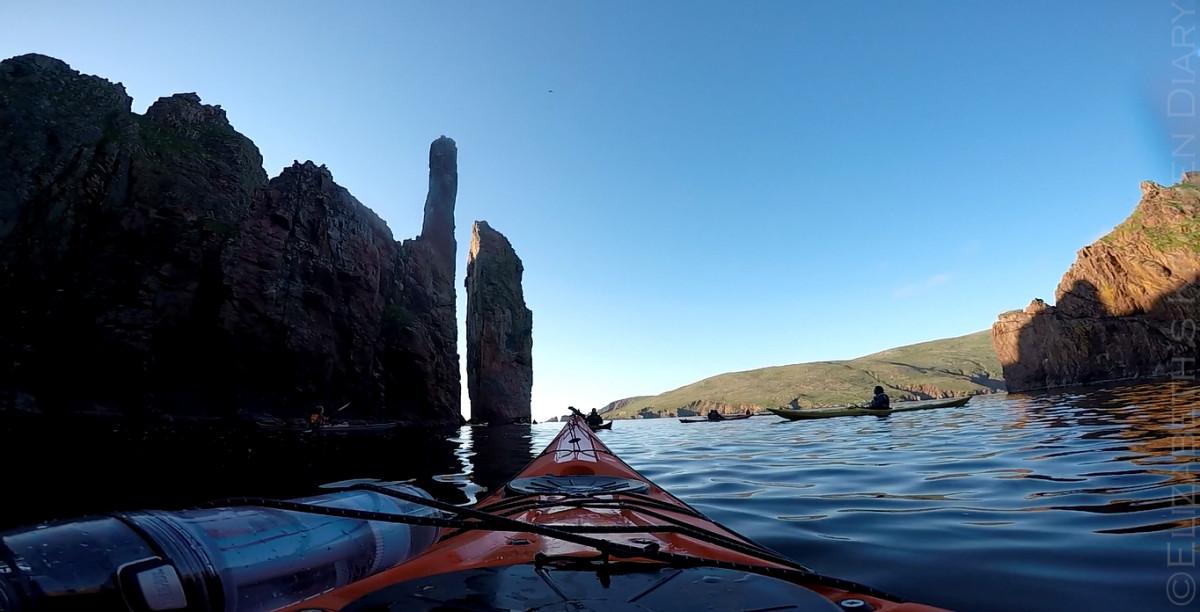 Ronas Voe Stacks, Shetland