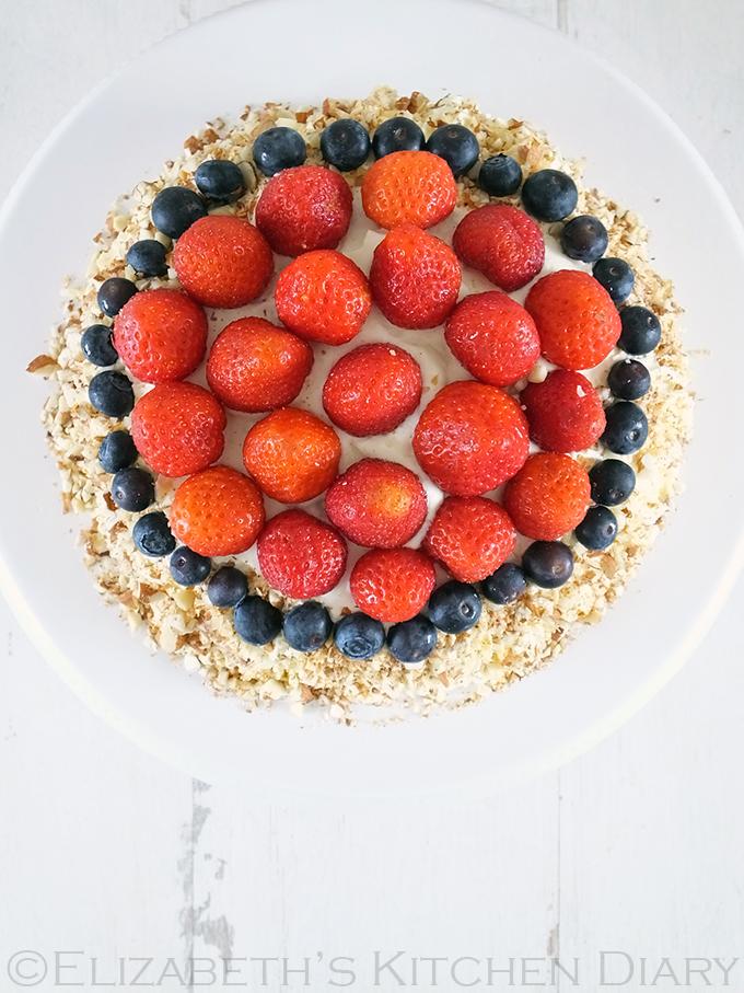 Sockerkaka - A Swedish celebration cake
