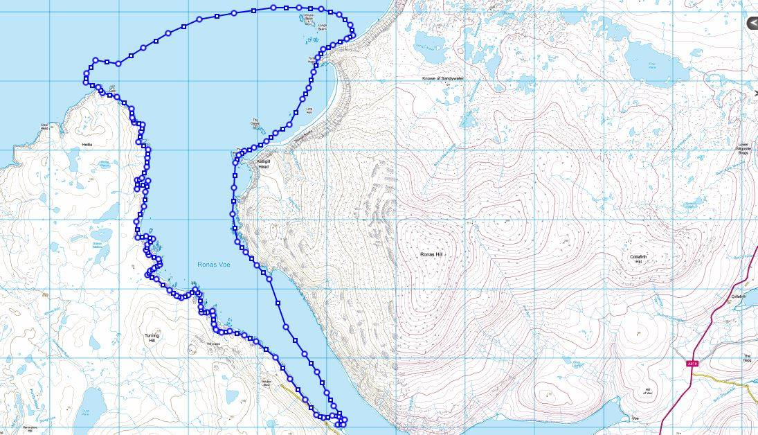 Ronas Voe Kayak Trip 3 July 2015
