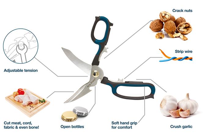 Any Sharp 5 in 1 scissors