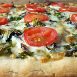 Garlic & Kale Pizza