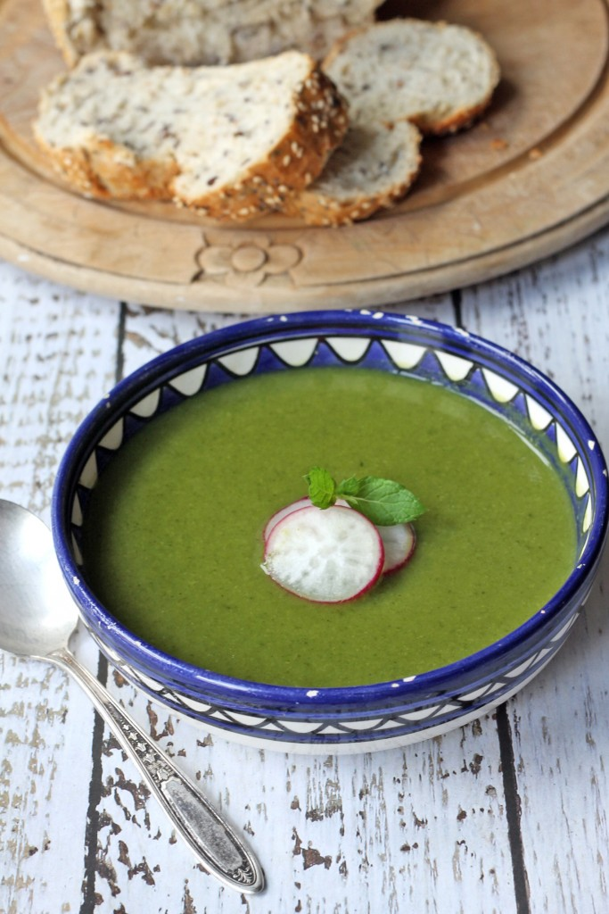 Pea and Kale Soup