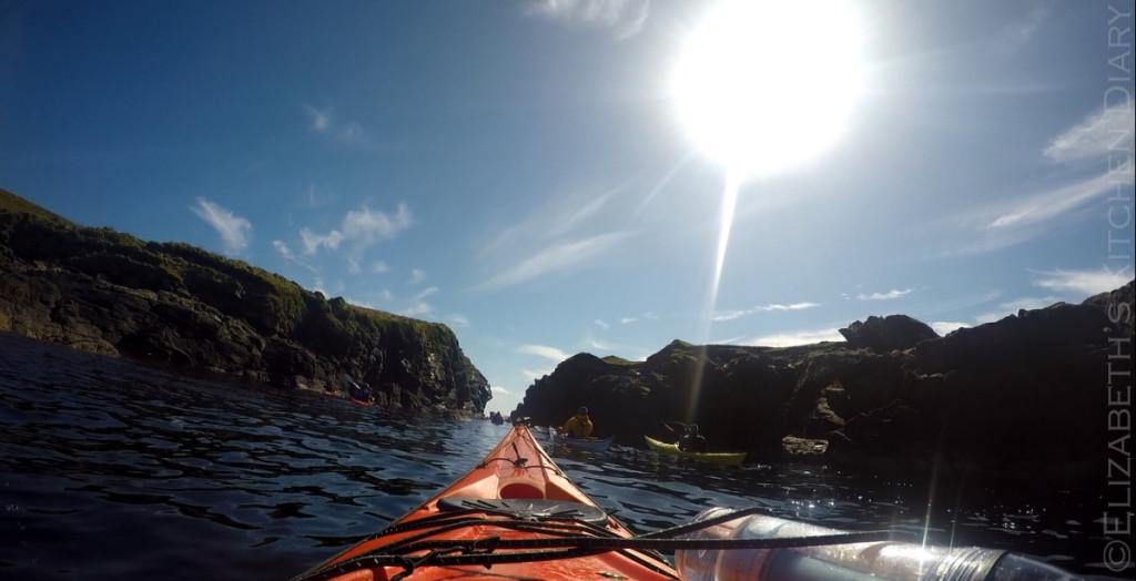 Kayaking in Shetland
