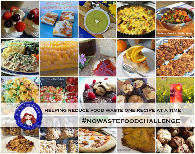 No Waste Food Challenge July 2015