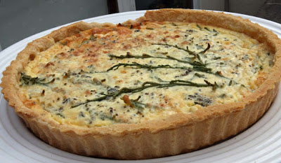 Sea Vegetable Quiche