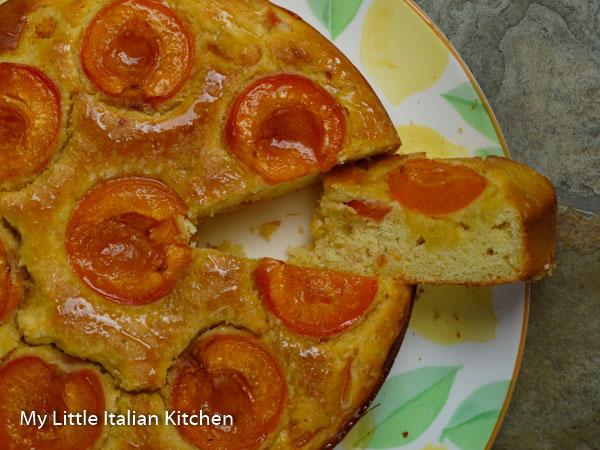 Gluten Free Soft Apricot Cake