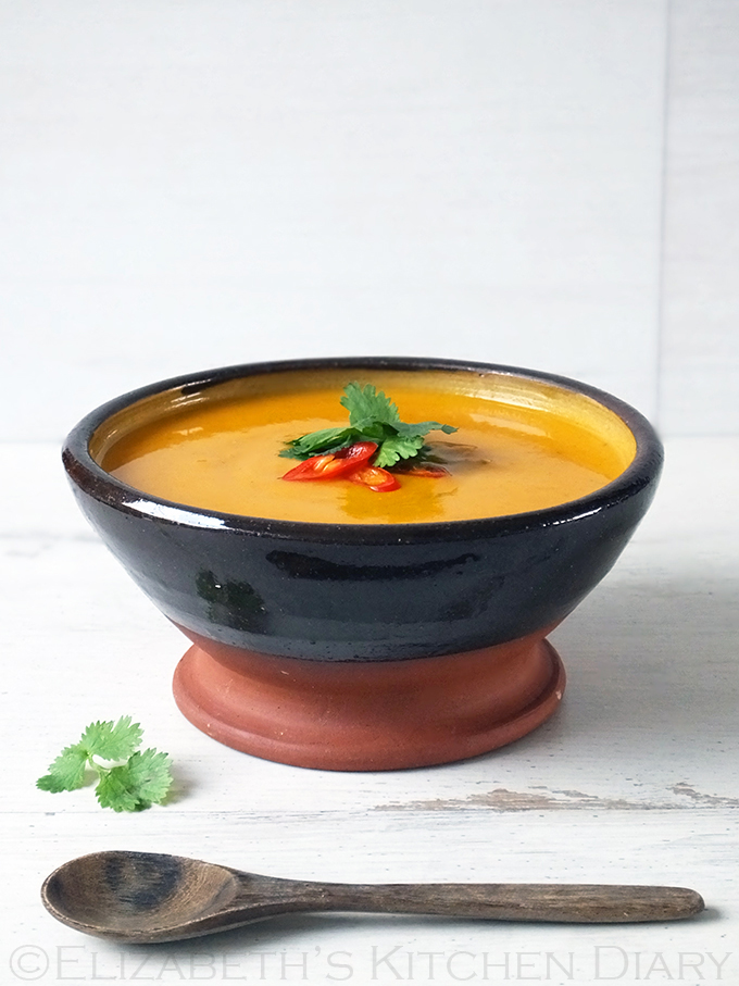 Thai Sweet Potato Soup