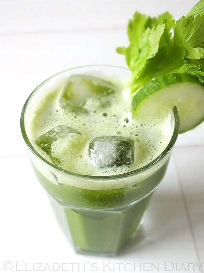 Veggie Zinger Juice with Matcha Green Tea