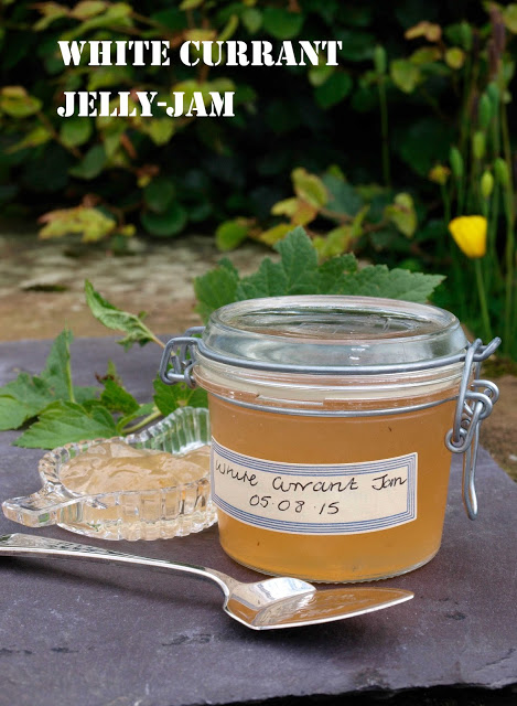White Currant Jelly Jam