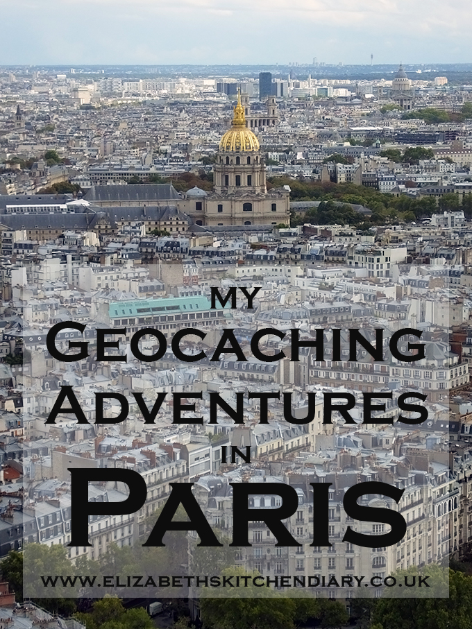 Geocaching in Paris