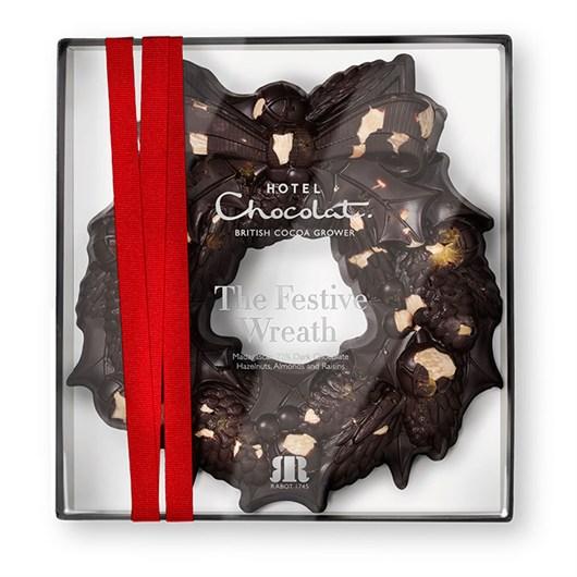 Hotel Chocolate Christmas Wreath