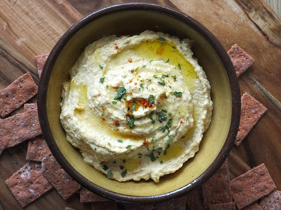Hummus with Cumin and Cayenne