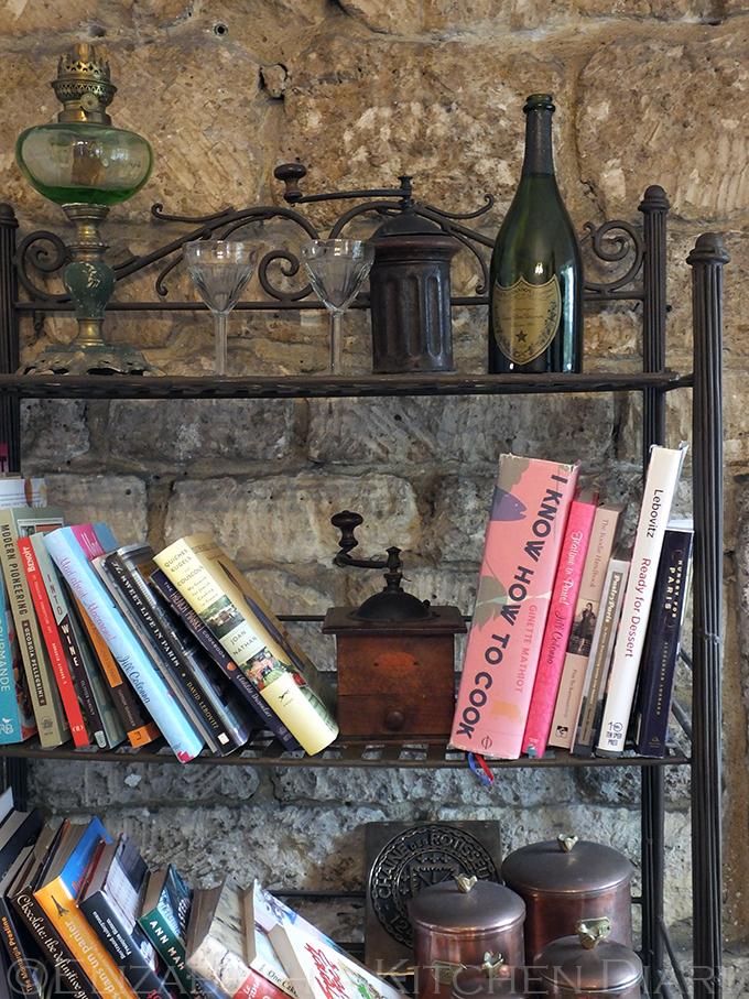 La Cuisine bookshelf