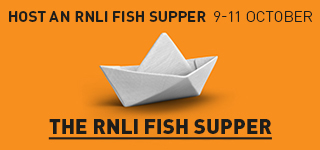 RNLI fish supper