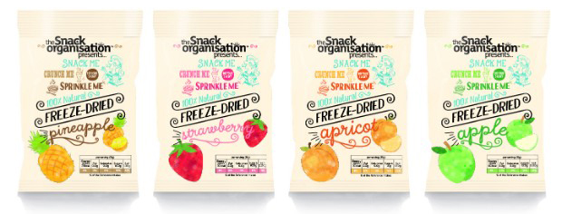 The Snack Organisation - freeze dried fruit