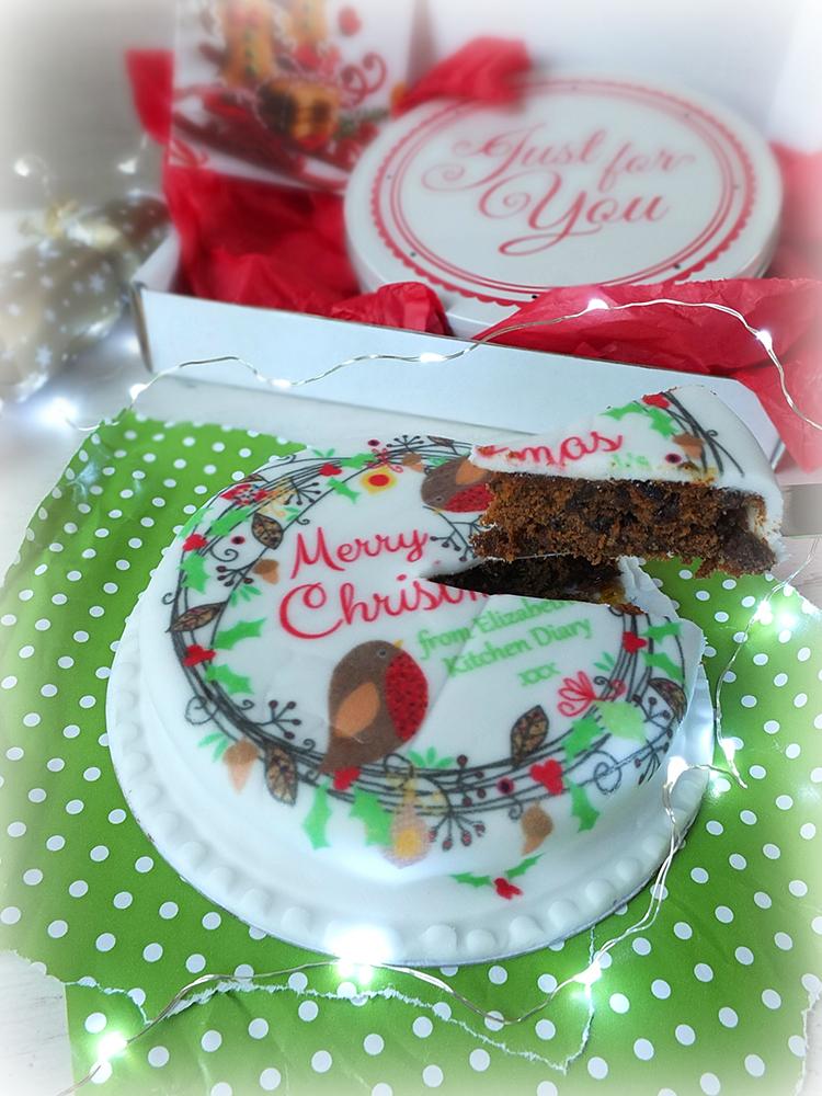 Baker Days Christmas #CakebyPost Letterbox Cake