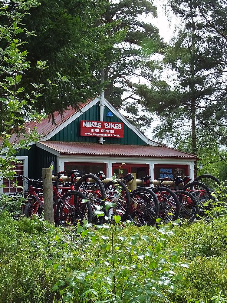 Mike's Bikes, Aviemore