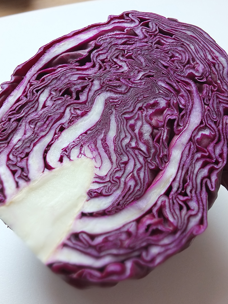 the effect of red cabbage in Red cabbage is enriched with minerals, vitamins and other phytochemicals   owing to their antioxidant effects, the color pigments present in red cabbage.