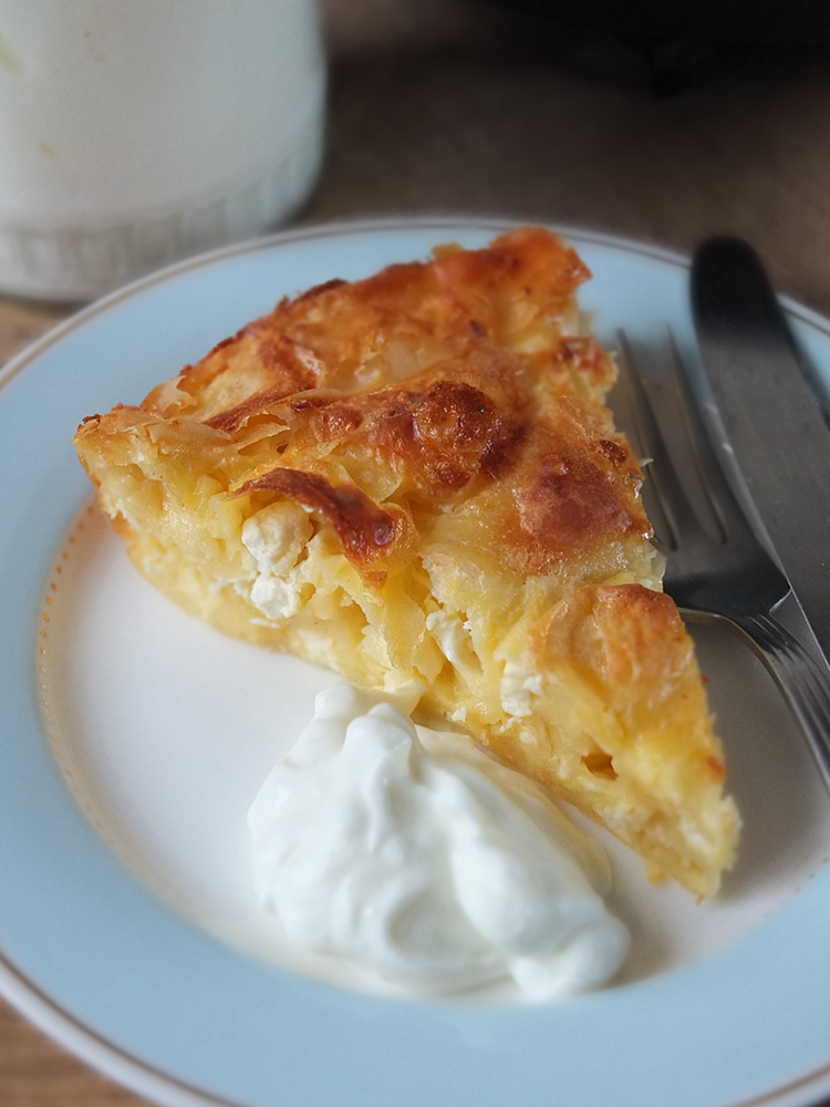 Banitsa - Bulgarian Cheese Pie