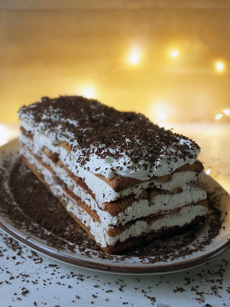 Biskvitena Torta - Bulgarian Biscuit Cake