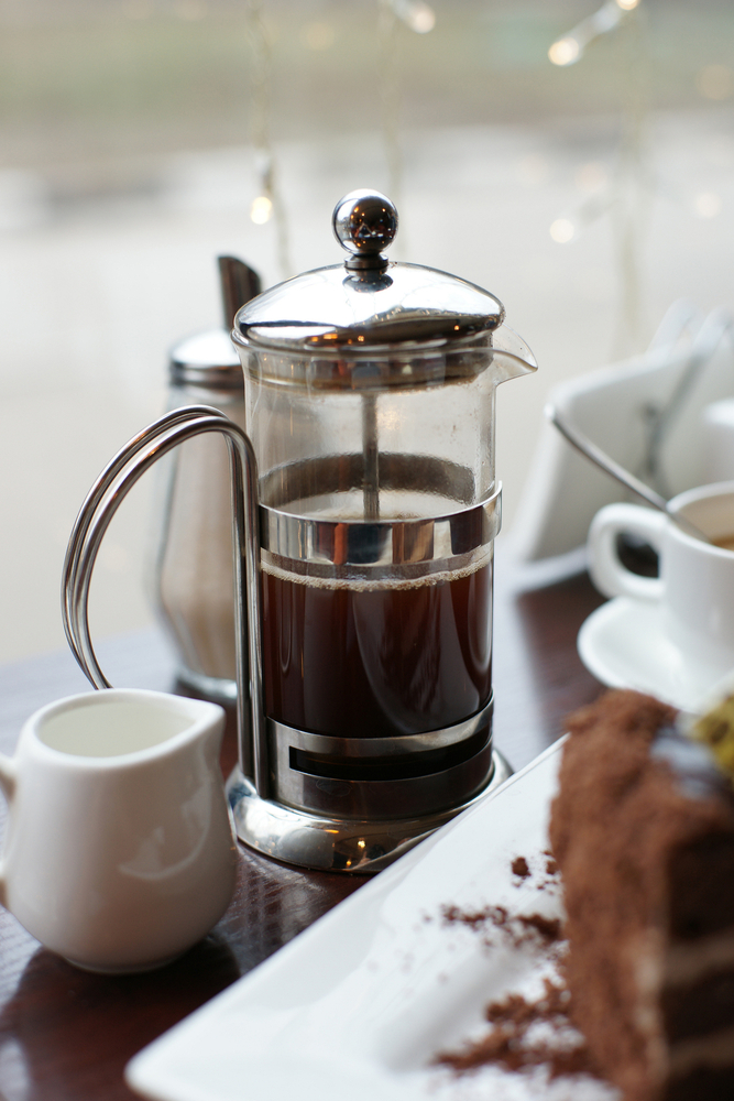 french press by oliveshadow