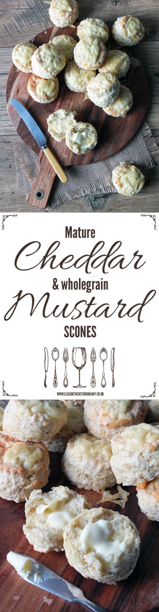 Mature Cheddar & Wholegrain Mustard Scones